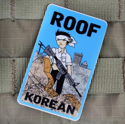ROOF KOREAN STICKER - Tactical Outfitters