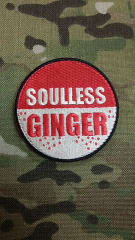 Souless Ginger Mojo Tactical Patch - Tactical Outfitters