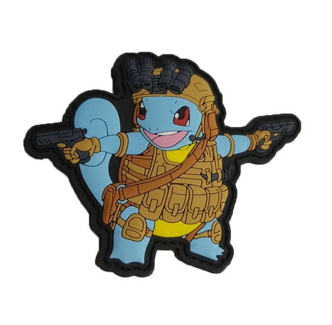 OPERATOR SQUIRTLE PVC MORALE PATCH - Tactical Outfitters
