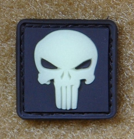 PUNISHER SKULL CAT EYE PVC MORALE PATCH - Tactical Outfitters