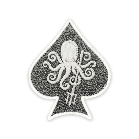 PDW SPD Kraken Trident Spade GID Morale Patch - Tactical Outfitters