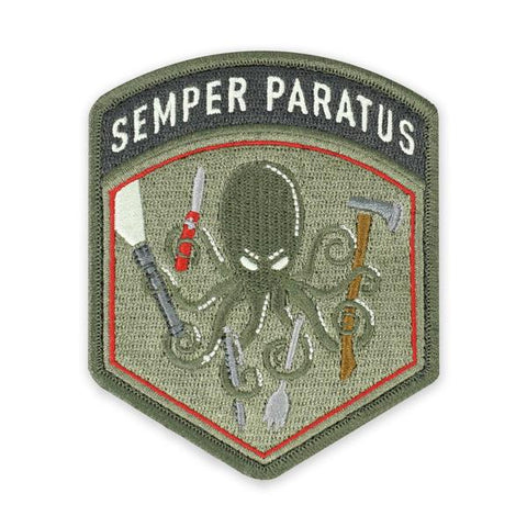 PDW SPD Semper Paratus Flash Morale Patch - Tactical Outfitters