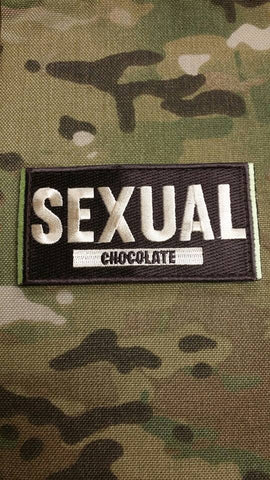 Sexual Chocolate Mojo Tactical Patch - Tactical Outfitters