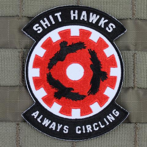SHIT HAWKS SQUADRON MORALE PATCH - Tactical Outfitters