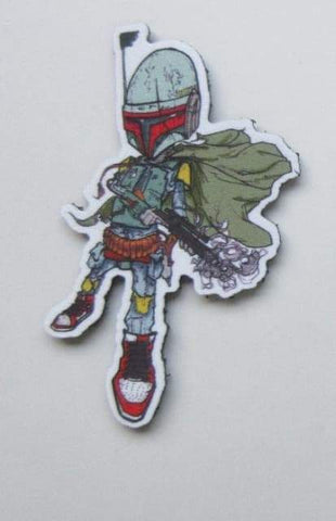 SNEAKER FETT - MOJO TACTICAL MORALE PATCH - Tactical Outfitters