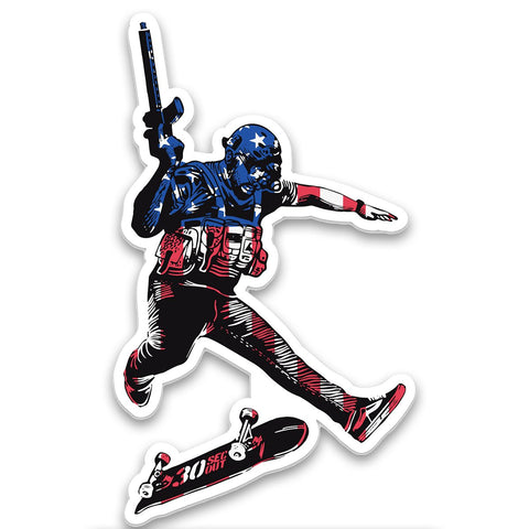 COMMANDO TRE FLIP STICKER - Tactical Outfitters