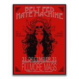 BELT FED HATE MACHINE STICKER - Tactical Outfitters