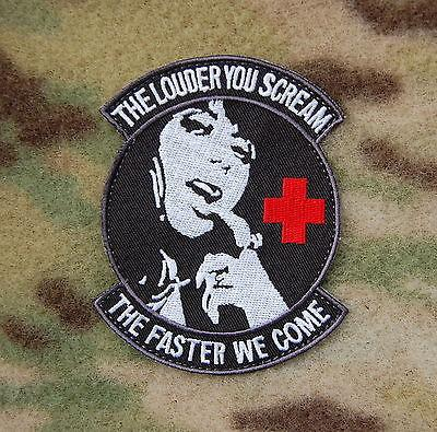 THE LOUDER YOU SCREAM PARA RESCUE MORALE PATCH - Tactical Outfitters