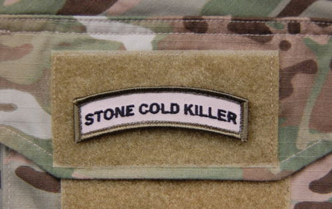 Stone Cold Killer Tab Patch - Tactical Outfitters