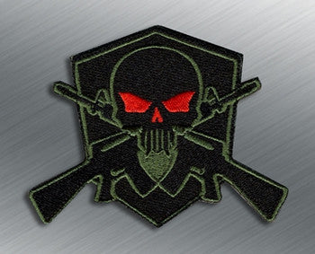 TACTICAL SKULL SHIELD MORALE PATCH - Tactical Outfitters