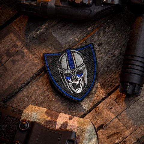 BLUE LINE VIKING MORALE PATCH - Tactical Outfitters