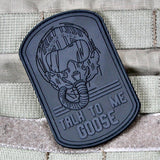 Talk To Me Goose Top Gun PVC Morale Patch - Tactical Outfitters