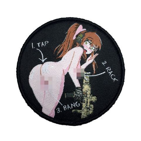 TAP, RACK, BANG (LEWD) MORALE PATCH - Tactical Outfitters