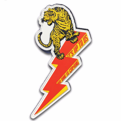 RIDE THE LIGHTNING PVC MORALE PATCH - Tactical Outfitters