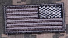 US FLAG REVERSED MINI PATCH - Tactical Outfitters