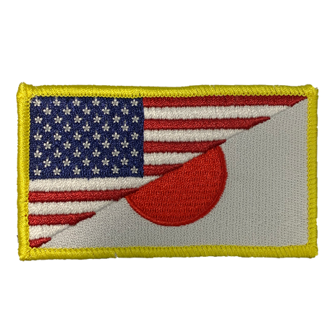 US/JP FLAG (2X3 SIZE) MORALE PATCH - Tactical Outfitters