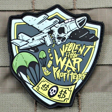 VIOLENT LITTLE WAR PROFITEERS MORALE PATCH - Tactical Outfitters