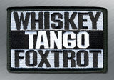 WHISKEY TANGO FOXTROT MORALE PATCH - Tactical Outfitters