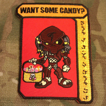 WANT SOME CANDY? - MOJO TACTICAL MORALE PATCH - Tactical Outfitters