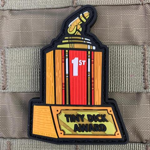 """TINY DICK AWARD"" PVC MORALE PATCH - Tactical Outfitters"