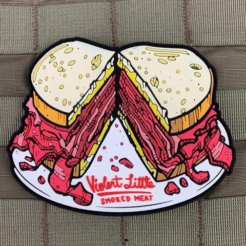 VIOLENT LITTLE SMOKED MEAT MORALE PATCH