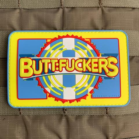 BUTTFUCKERS PVC MORALE PATCH - Tactical Outfitters