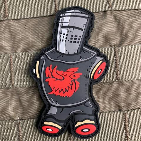 BLACK KNIGHT PVC MORALE PATCH - Tactical Outfitters