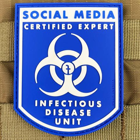 """Social Media Expert - Infectious Diseases"" Patch - Tactical Outfitters"
