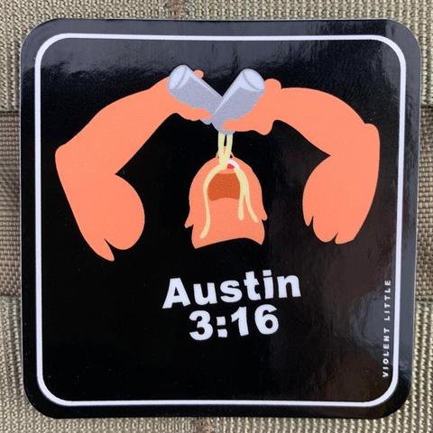 STONE COLD STEVE AUSTIN STICKER - Tactical Outfitters