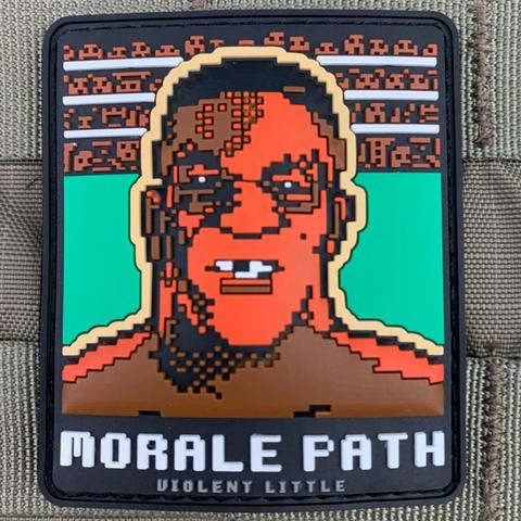 """Morale Path"" Mike Tyson Punchout Patch - Tactical Outfitters"