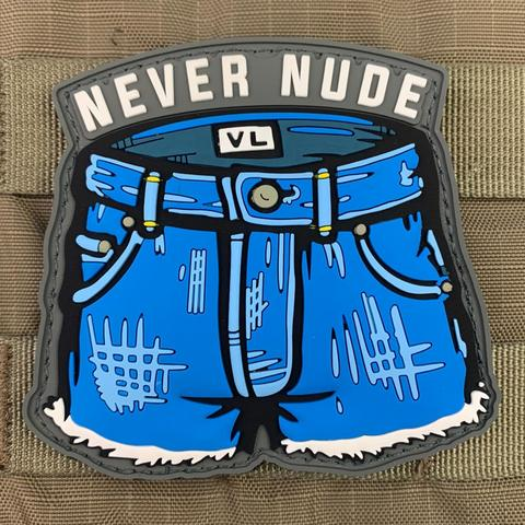 NEVER NUDE ARRESTED DEVELOPMENT PVC MORALE PATCH - Tactical Outfitters