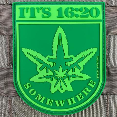 IT'S 16:20 SOMEWHERE PVC MORALE PATCH - Tactical Outfitters
