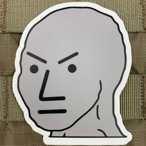 ANGRY NPC STICKER - Tactical Outfitters