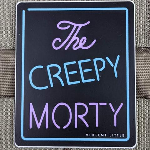 """THE CREEPY MORTY"" STICKER"