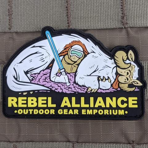 """REBEL ALLIANCE"" OUTDOOR GEAR EMPORIUM PVC MORALE PATCH - Tactical Outfitters"