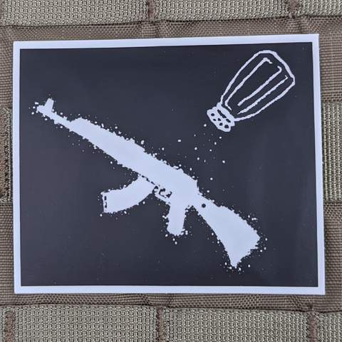 """A SALT RIFLE"" STICKER - Tactical Outfitters"