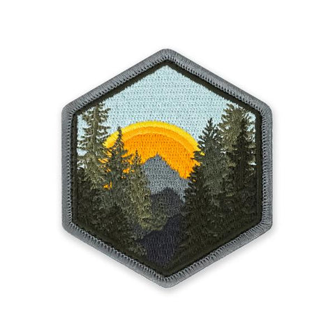 PDW Wilderness Sunrise Morale Patch - Tactical Outfitters