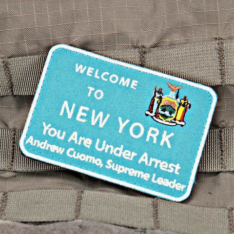 YOU ARE UNDER ARREST NY MORALE PATCH - Tactical Outfitters