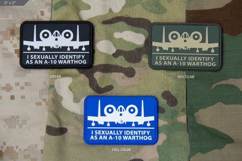 A10 SEXUAL PVC MORALE PATCH - Tactical Outfitters