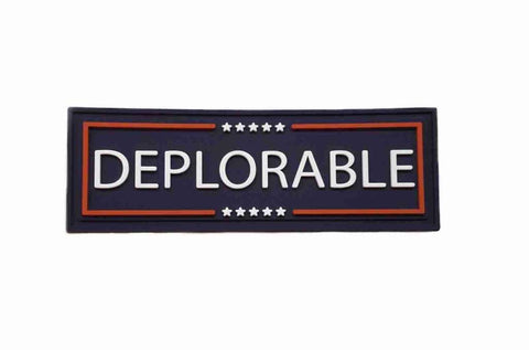 DEPLORABLE PVC MORALE PATCH - Tactical Outfitters