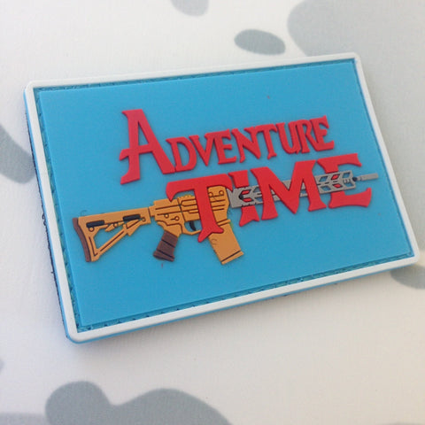 ADVENTURE TIME PVC MORALE PATCH - Tactical Outfitters