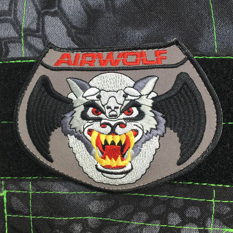 AIRWOLF MORALE PATCH - Tactical Outfitters