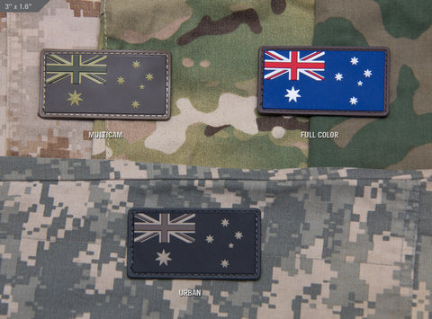 AUSTRALIAN FLAG PVC MORALE PATCH - Tactical Outfitters