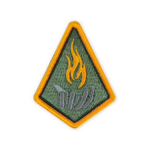 PDW Carry The Fire Badge 2019 Morale Patch - Tactical Outfitters