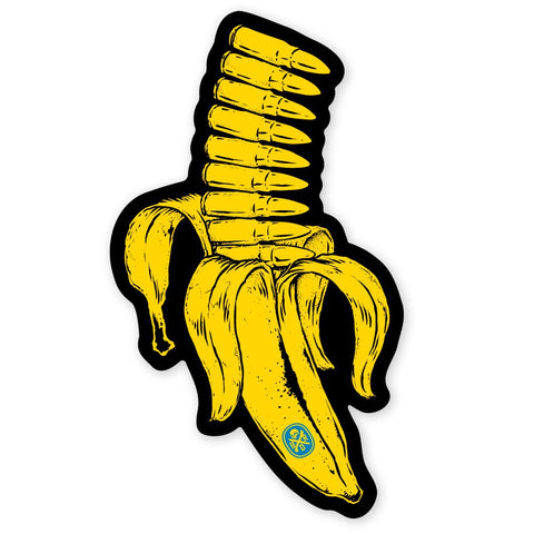 BANANA CLIP STICKER - Tactical Outfitters