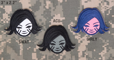BATTLEGIRL MORALE PATCH - Tactical Outfitters