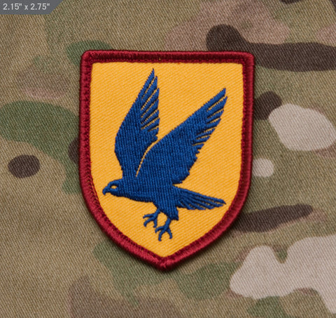 BLUE FALCON MORALE PATCH - Tactical Outfitters