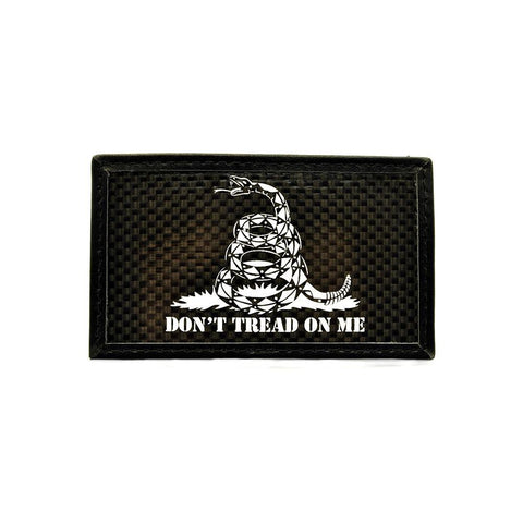 DON'T TREAD ON ME CARBON FIBER MORALE PATCH - Tactical Outfitters