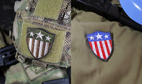 CAPTAIN AMERICA HEATER SHIELD MORALE PATCH - Tactical Outfitters