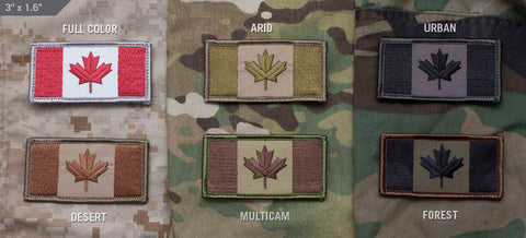 CANADIAN FLAG PATCH - Tactical Outfitters